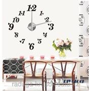 Часы-Стикеры 120х120 см фото