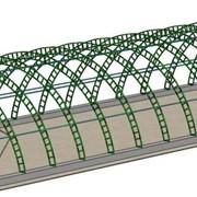 Строительство арочных ангаров фото