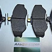 Колодки тормозные передние Porter TagAZ // HSB фото