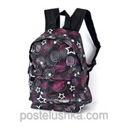 Рюкзак молодежный Enrico Benetti 43091316 черно - розовый фото
