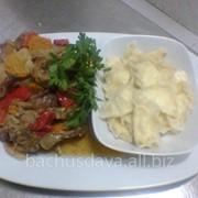 Крольчатина в ресторане Bachus Dava фото