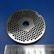1035.0 Решетка для промышленной мясорубки система Enterprise (Д-80/12мм, раб. отв. 3мм) фото