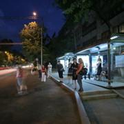 Реклама на остановках общественного транспорта фото