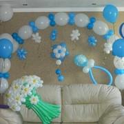 Любые фигуры из воздушных шаров, букеты, цветы, арки, сердца фото
