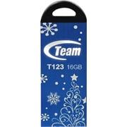 Флеш-накопитель USB 16Gb Team T123 Blue 2012 (TT12316GL10) фото