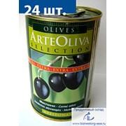 """Маслины """"ARTE OLIVA"""" с косточкой, 420г р. фото"""