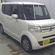 Микровэн турбо HONDA N BOX кузов JF1 класса минивэн модификация G Turbo L гв 2015 пробег 89 т.км белый жемчуг фото
