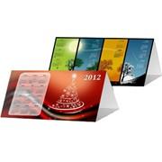 Дизайн календарей настольных, тип домик фото