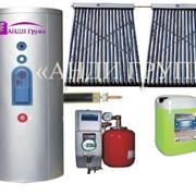 Гелиосистема для ГВС и отопления SH-300-36 сплит-система фото
