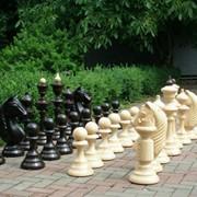Садові шахмати фото