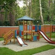 Детские игровые и спортивные площадки фото