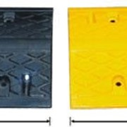Лежачий полицейский желтый 50х43х5 см фото