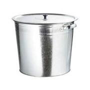 RUSSIA Бак для воды оцинкованный с крышкой (крышка с ручкой) 20 л, без крана Россия фото