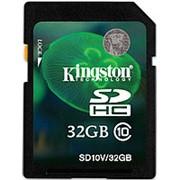 Карта памяти Kingston SDHC 32GB Class 10 фото