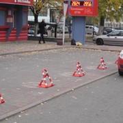 Барьеры парковочные. фото