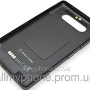 Задняя панель корпуса для мобильного телефона Nokia 820 Lumia black фото