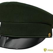 Фуражка МО офисная габардин зеленая фото