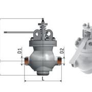Клапан поворотный DN 50 6с-12-1-1 фото
