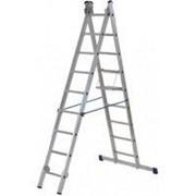 Лестница двухсекционная алюминиевая FIT 65426 2х11 35190618 фото