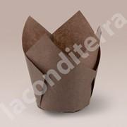 """Бумажные формочки для кексов """"Тюльпан"""". Формы для капкейков фото"""