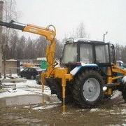 Подъемник (грузовой) на базе тракторов МТЗ фото