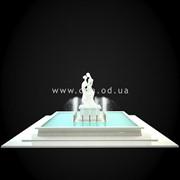 Скульптурный фонтан FN_006 фото