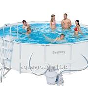 Каркасный бассейн размер 488 см Х 122 см фото