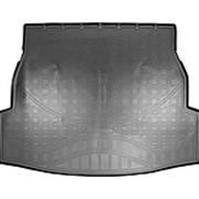 Коврик в багажник Toyota RAV4 (2020-...) черный Norplast с бортиком фото