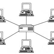 Проектирование, монтаж и обслуживание локальный вычислительных сетей (ЛВС) фото