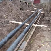Укладка трубопроводов водопроводных фото