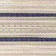 Погоны белые с двумя голубыми просветами (основа: КАРТОН) фото