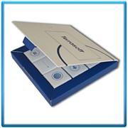 Сувенирная картонная упаковка для шоколада фото