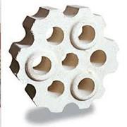 Изделия огнеупорные для кладки воздухонагревателей и воздуховодов горячего дутья доменных печей МКВН-72; МКВ-72. фото