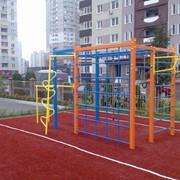Спортивно игровой комплекс Чемпион для детской площадки фото