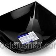 Салатник Luminarc Quadrato Black H3669 14 см фото