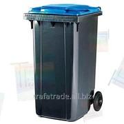 Контейнер пластиковый 360 литров фото