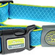 Ошейник сетчатый текстиль голубой L (42-65см)/3,2 см Hunter Maui (28006) фото