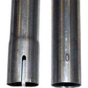 Оцинкованная труба с отверстиями L= 3,05 м. Ø 45 толщина - 1 мм. фото