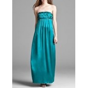 Прокат платья Laundry by Shelli Segal Strapless Sea Wave Gown фото