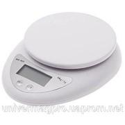 Кухонные весы до 5 кг (WH-b05) с батарейками фото