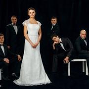 Платье свадебное А-силуэт фото