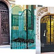 Защитные металлические конструкции / решетки, ворота, заборы фото