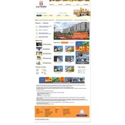 Сайт для Агентства элитной недвижимости Lux Realty фото