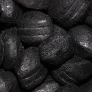 Брикеты из угля, уголь фото