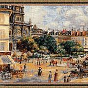 Набор для вышивания Площадь Троицы. Париж фото