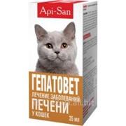 Гепатовет для кошек 35 мл Api-San фото