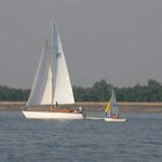 Обучение яхтингу (управление парусной яхтой)Киев- практические занятия фото