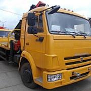 Автоэвакуатор на шасси КамАЗ-4308 с КМУ Palfinger РК-13000 Т фото