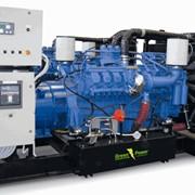 Дизельные электростанции, дизель-генераторы на базе двигателей CUMMINS, PERKINS, IVECO, MTU, VOLVO, 3-х фазные с водяным охлаждением, мощностью от 30 до 1020 кВа, использование в качестве действующих автономных или резервных источников электроэнергии фото