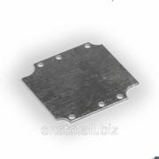 Пластина установочная, размер 68 x 113 x 1.5 мм, оцинкованная сталь, HMP0813B фото